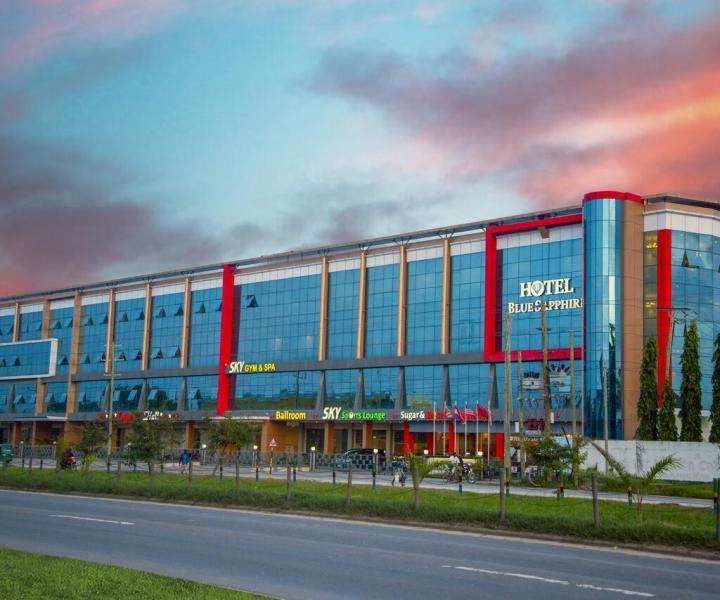 Blue Saphire Hotel - direkt am Flughafen Dar es Salaam in Tansania