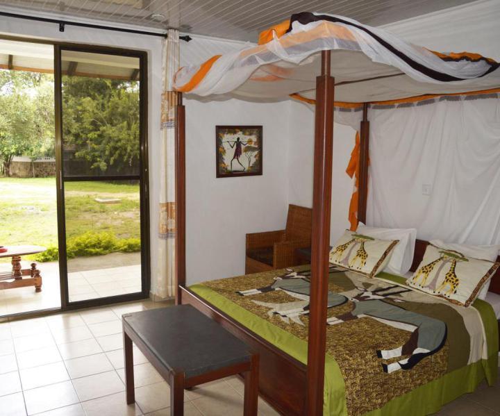 TanSwiss Lodge in Mikumi Südtansania