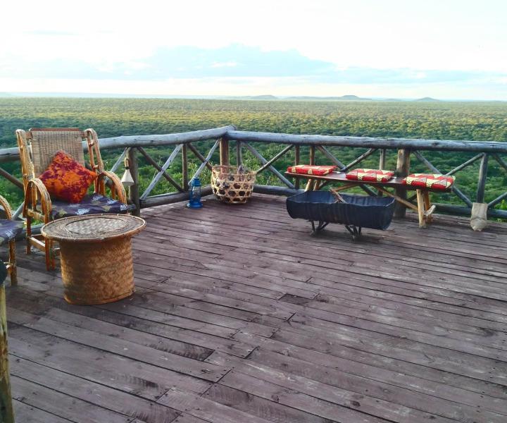 Ruaha Hilltop Lodge Süden Tansanias