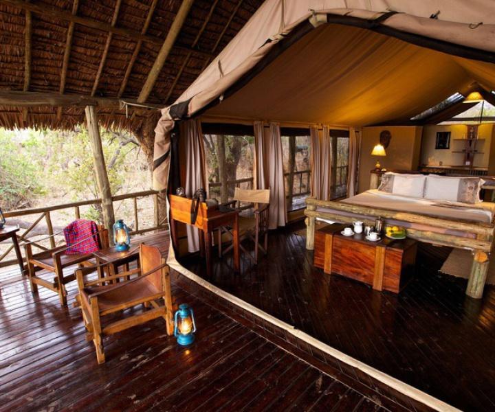 Katavi Wildife Camp in West Tansania
