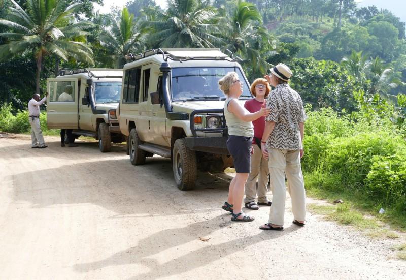 Bushkomba Gäste unterwegs in Tansania